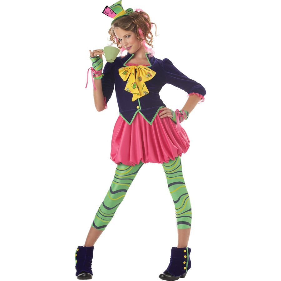 The Mad Hatter Tween Costume XLarge 12-14 - Girls Costumes girls Halloween