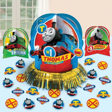 Thomas Tank Decor Kit - Birthday Party Decorations Birthday Party Plates