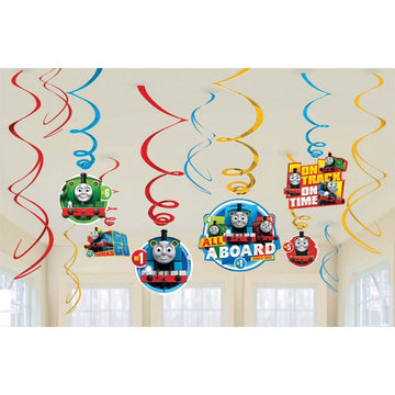 Thomas Tank Foil Decor - Birthday Party Decorations Birthday Party Plates