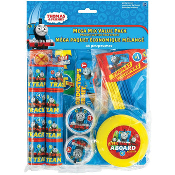 Thomas Tank Party Favors Pack - Birthday Party Decorations Birthday Party Plates