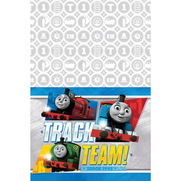 Thomas Tank Party Table Cover - Birthday Party Decorations Birthday Party Plates