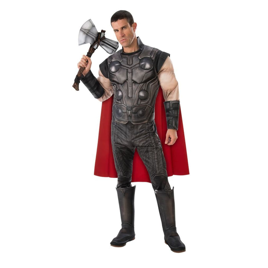 Thor Deluxe Mens Costume 42-44 - Mens Costumes New Costume