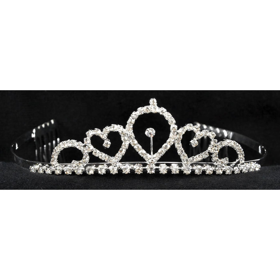 Tiara 1.25 Inch Child - Hats Tiaras & Headgear Royalty & Princess Costume