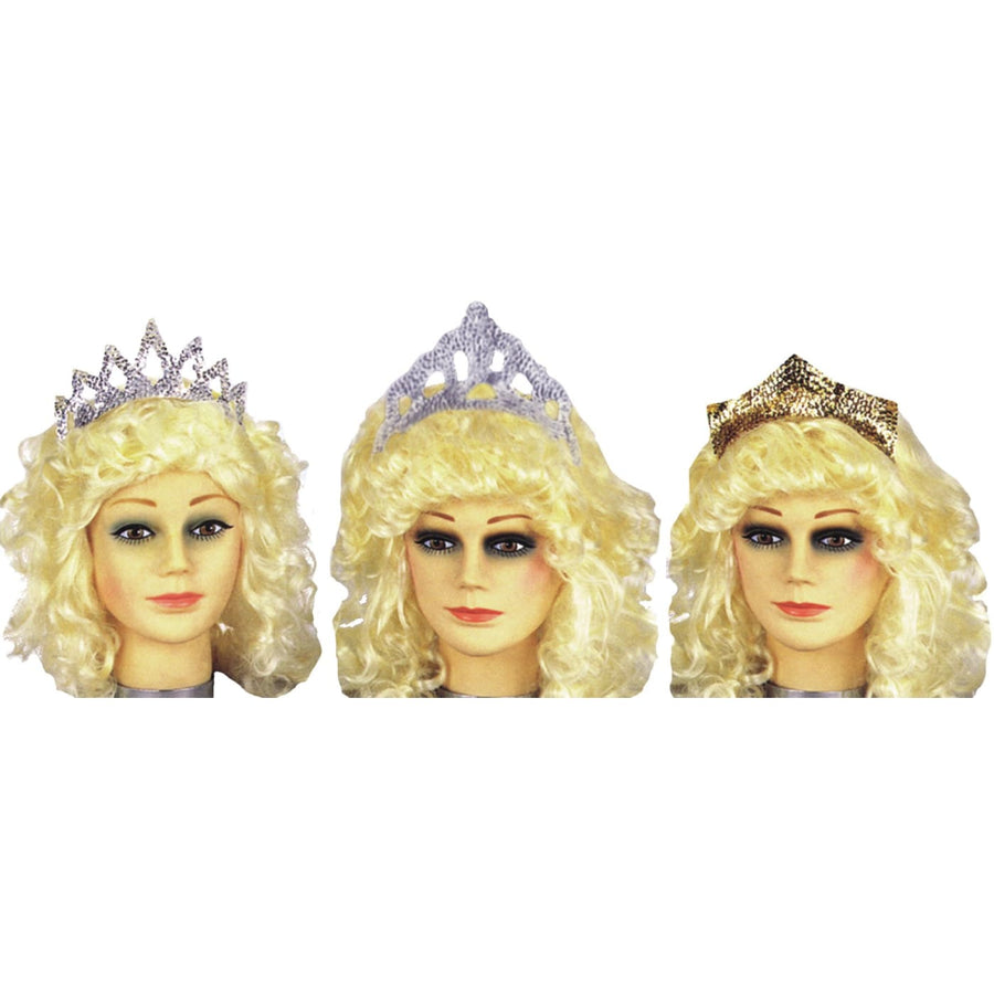 Tiara Sparkling Silver Sequin - Halloween costumes Hats Tiaras & Headgear