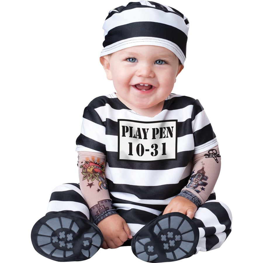 Time Out Toddler Costume Sm - Convict & Cop Costume Halloween costumes Toddler