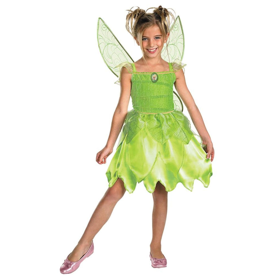 Tink & The Fairy Rescue Kids Costume Small 4-6 - Angel & Fairy Costume Disney