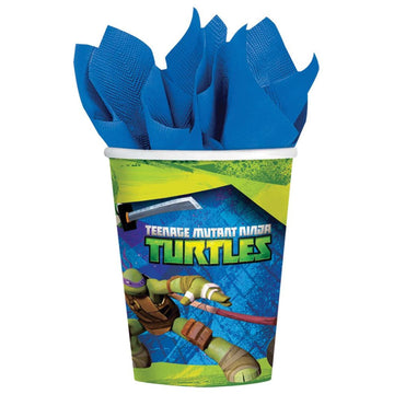 Tmnt 9 Oz Paper Cups -Set of 8 - Birthday Party Decorations Birthday Party