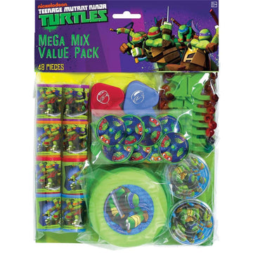 Tmnt Party Party Favors Pack - Birthday Party Decorations Birthday Party Plates