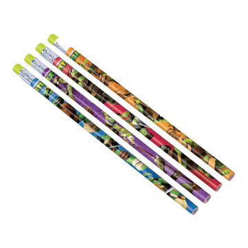 Tmnt Pencil Party Favors Pack - Birthday Party Decorations Birthday Party Plates