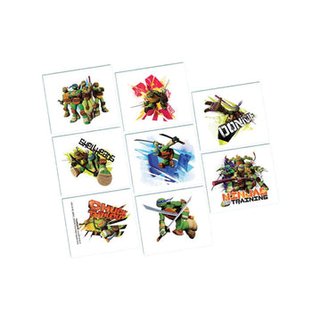 Tmnt Temporary Tattoos -Set of 8 - Birthday Party Decorations Birthday Party