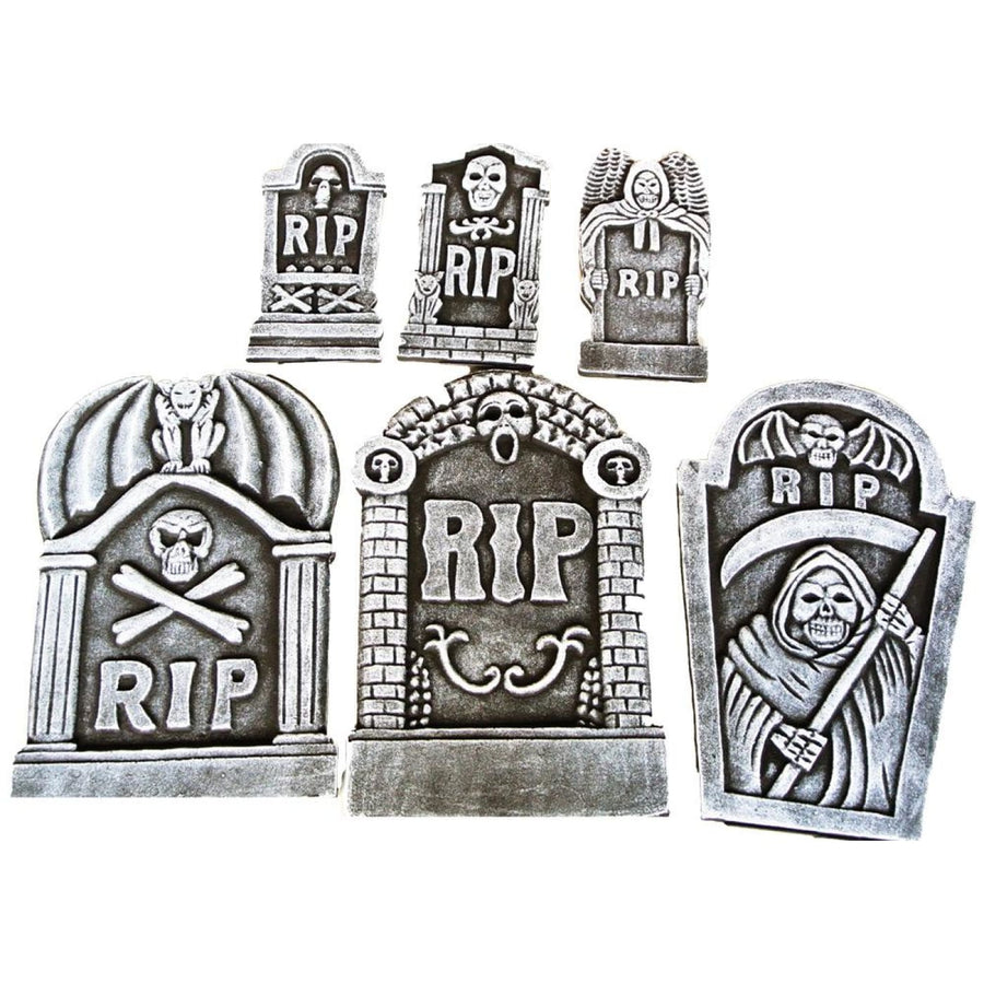 Tombstone Kit 6 Piece Rip - Halloween costumes New Costume