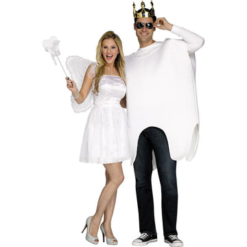 Tooth Fairy & Tooth Adult Couples Costumes - Halloween costumes Mens Costumes