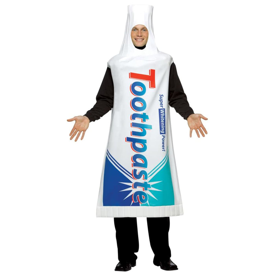 Tooth Paste Adult Costume - adult halloween costumes halloween costumes Mens