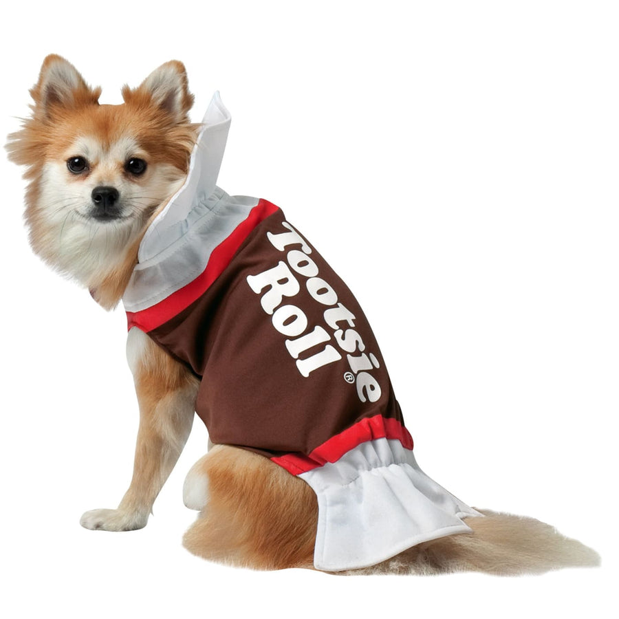 Tootsie Roll Dog Costme Xsmall - Halloween costumes