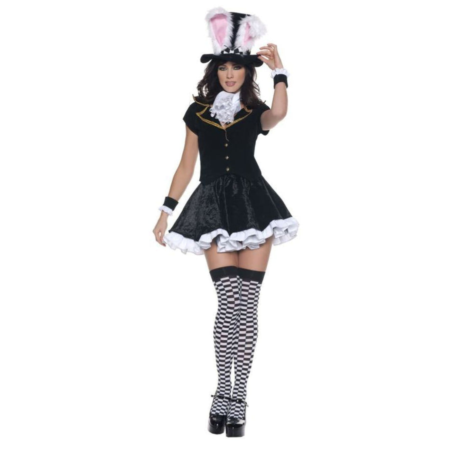 Totally Mad Sm - adult halloween costumes Alice in Wonderland Costume female