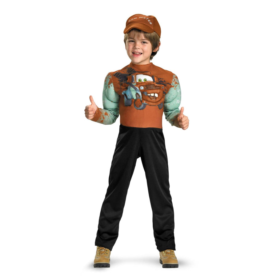 Tow Mater Muscle Boys Costume 4-6 - Boys Costumes boys Halloween costume