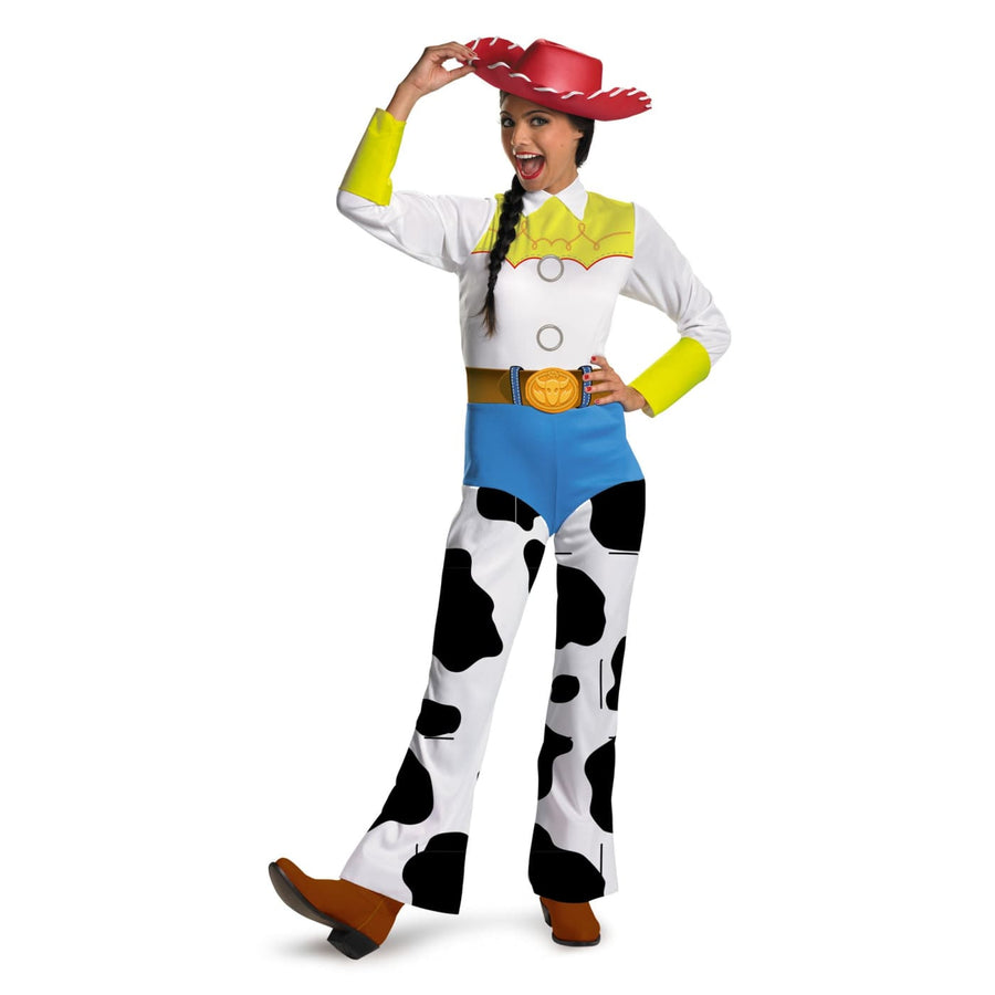 Toy Story Jessie Adult Md Classic - adult halloween costumes Buzz Lightyear