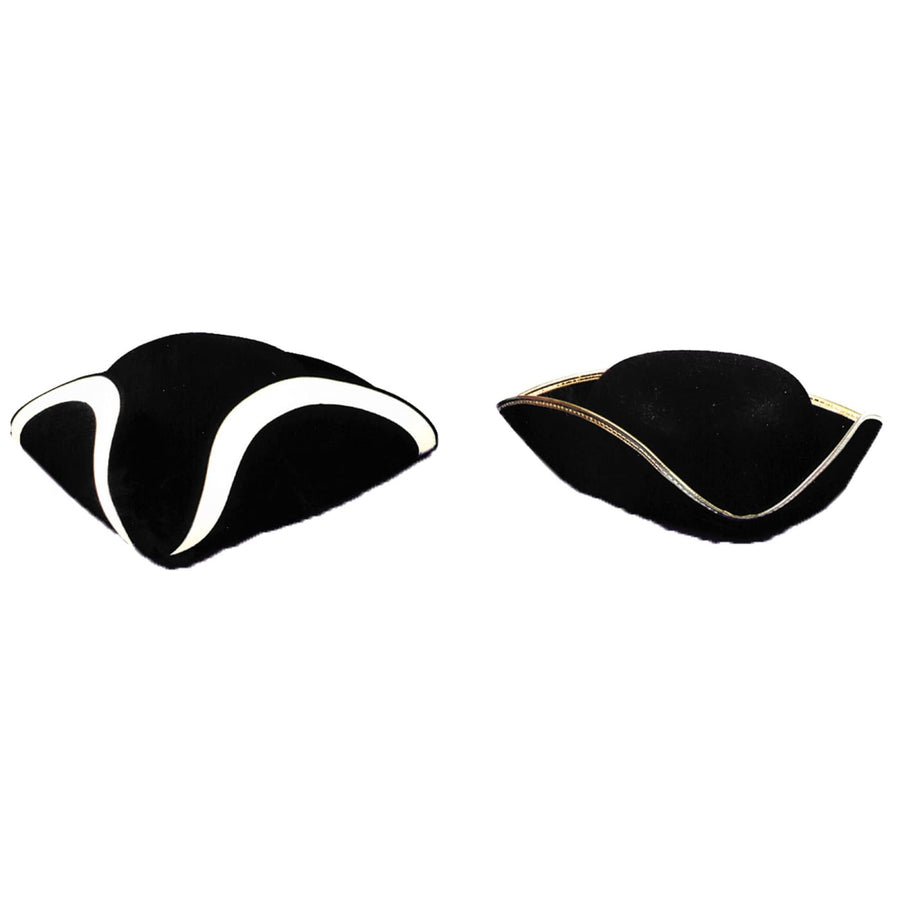 Tricorn Hat Quality Md - Hats Tiaras & Headgear Pirate Costume Pirates of the