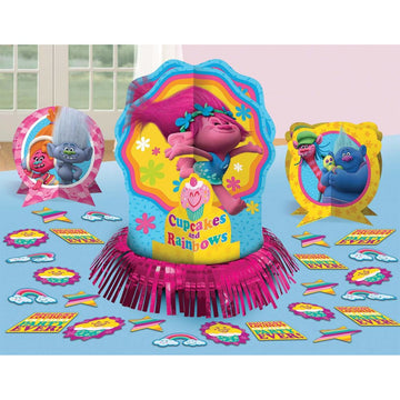 Trolls Party Table Decor Kit - Birthday Party Decorations Birthday Party Plates