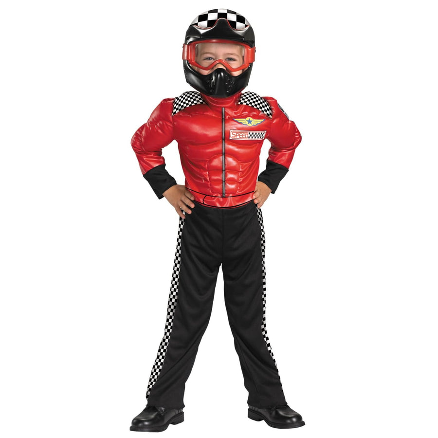 Turbo Racer Toddler Costume 2T - Cheerleader & Sports Costume Halloween costumes