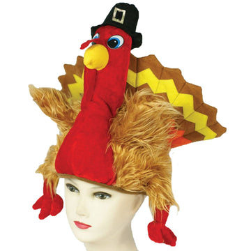 Turkey Hat - Halloween costumes Hats Tiaras & Headgear