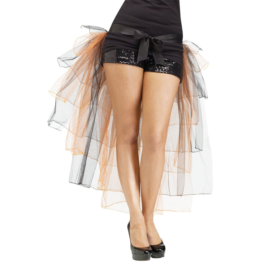 Tutu Bustle Skirt Adult Orange - Halloween costumes Tights Socks & Underwear