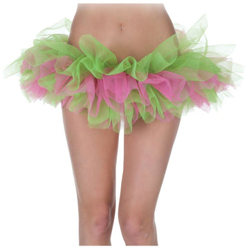 Tutu Green And Pink - Halloween costumes Tights Socks & Underwear