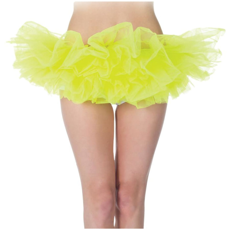 Tutu Neon Yellow - Halloween costumes Tights Socks & Underwear