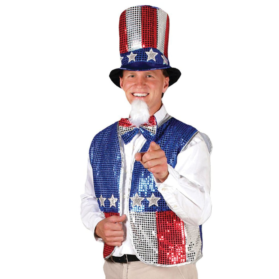 Uncle Sam Adult Costume Accessory Set - adult halloween costumes halloween