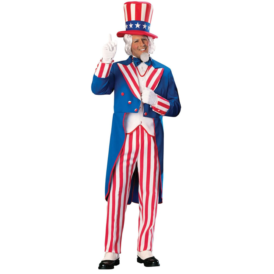 Uncle Sam Adult Lg - adult halloween costumes halloween costumes Holiday