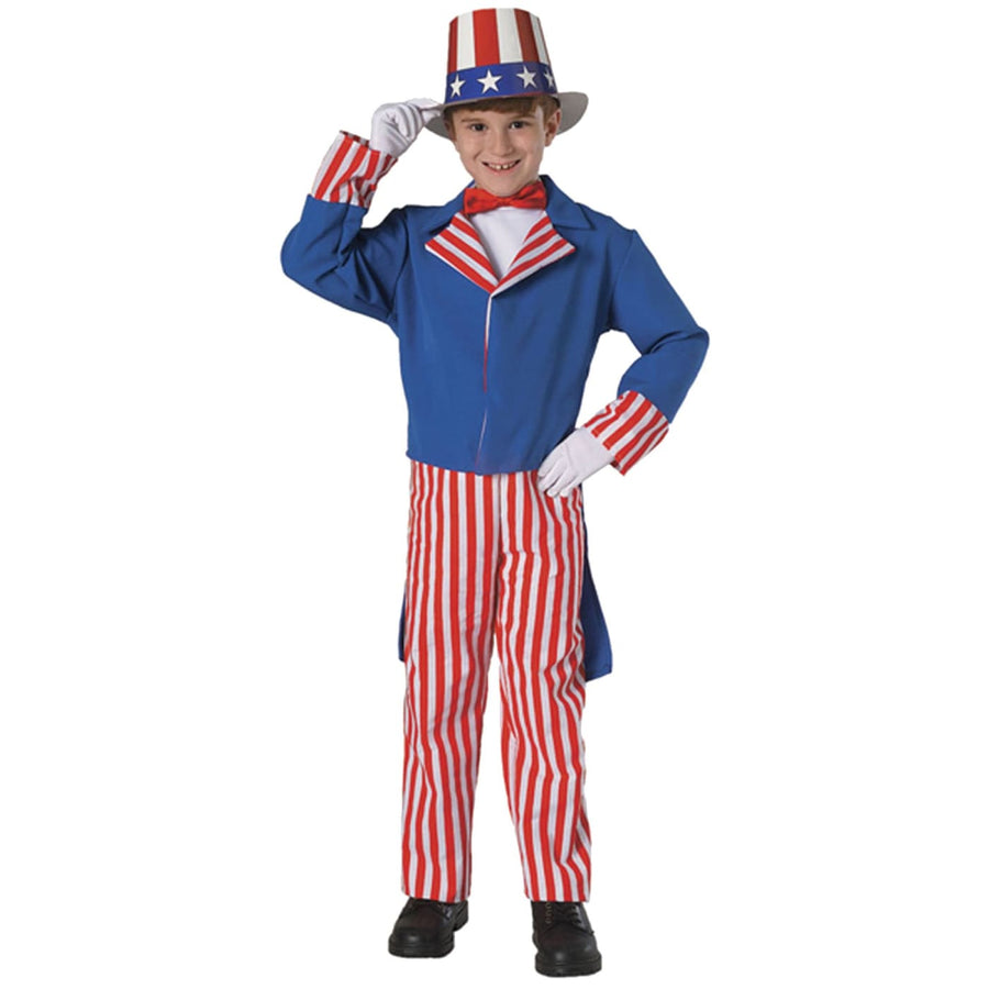 Uncle Sam Boys Costume Lg 12-14 - Boys Costumes boys Halloween costume Halloween