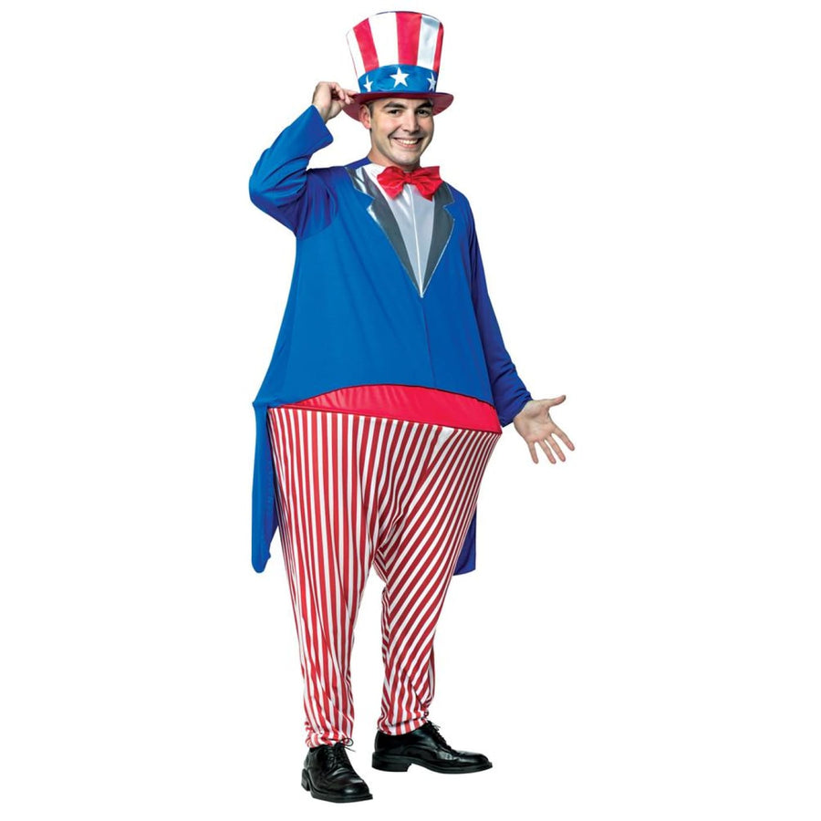 Uncle Sam Hoopster Adult Costume - adult halloween costumes halloween costumes