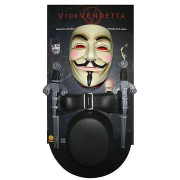 V For Vendetta Kit - Halloween costumes V for Vendetta Costume V For Vendetta