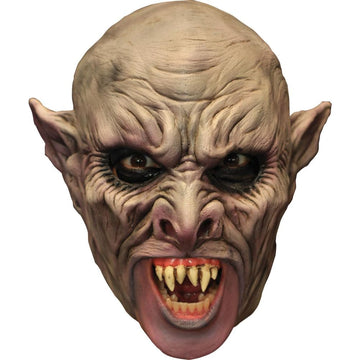 Vamp Chinless Latex Costume Mask - Costume Masks Gothic & Vampire Costume