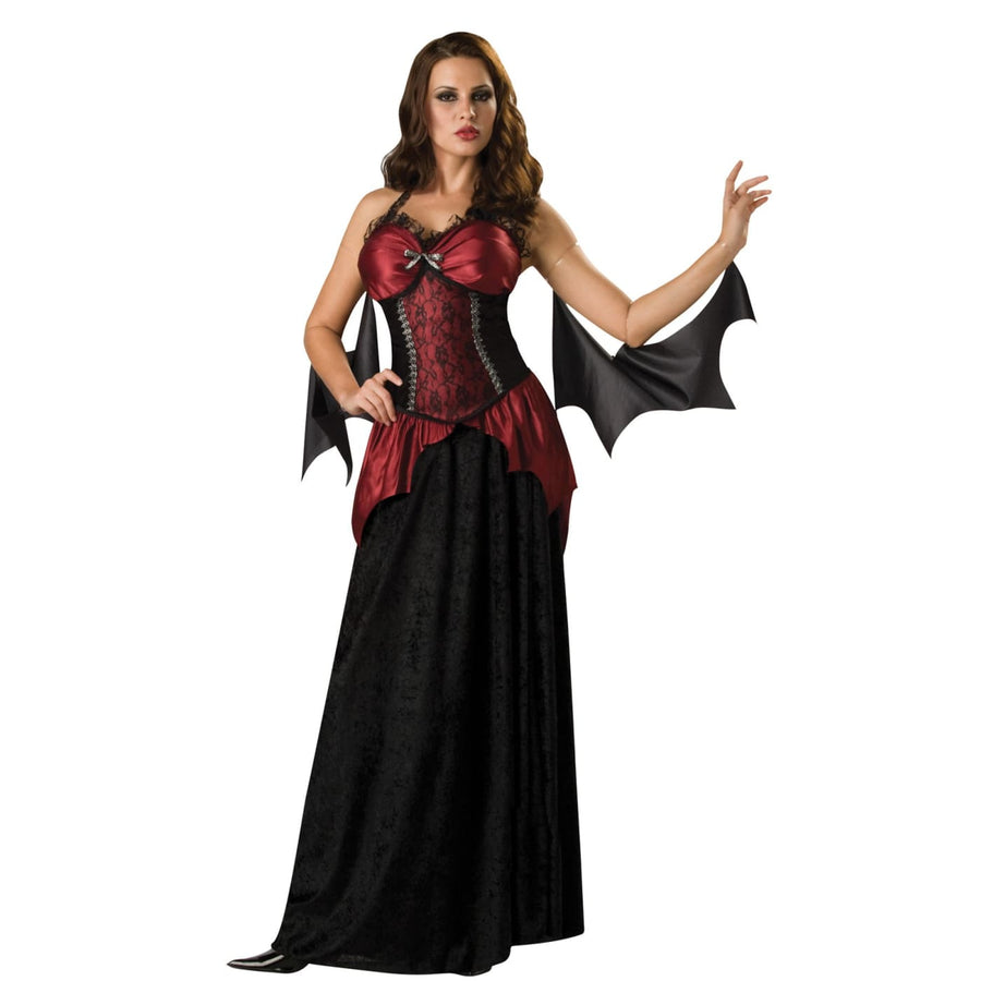 Vampira Adult Sm - adult halloween costumes female Halloween costumes Gothic &
