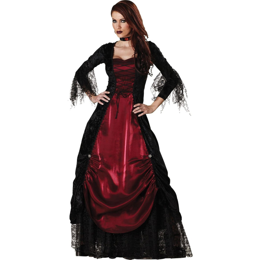 Vampira Gothic Adult Small - adult halloween costumes female Halloween costumes