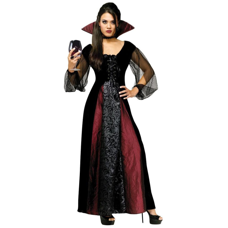 Vampire Womens Costume Md-Lg - adult halloween costumes Halloween Costumes New