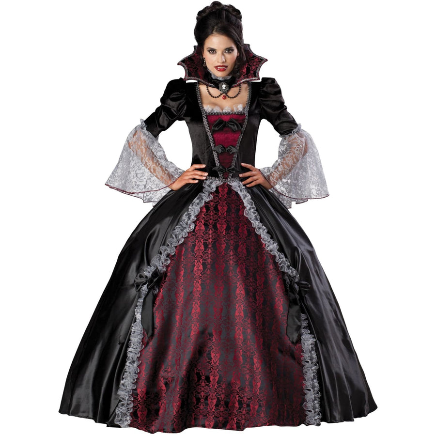 Vampiress Of Versailles Gb Lg - adult halloween costumes female Halloween