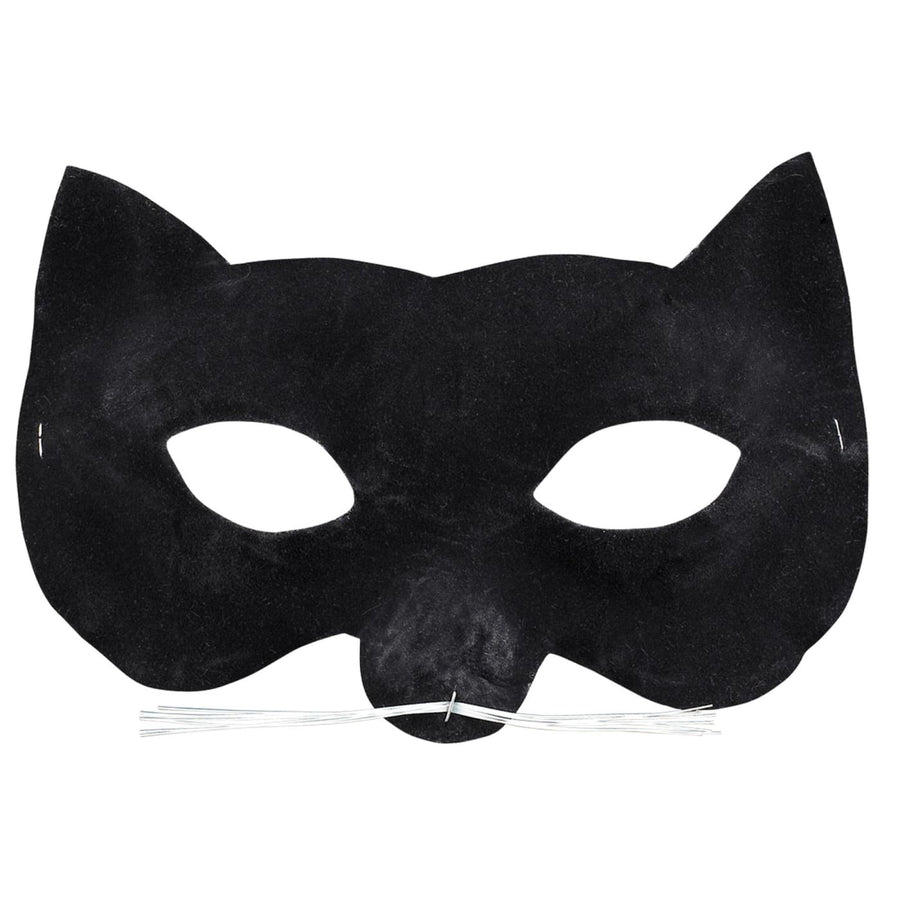 Velvet Cat Eye Mask - Batman Costume catwoman costume Costume Masks Halloween
