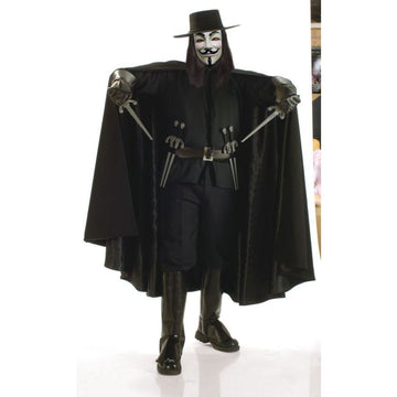 Vendetta Grand Heritage Adult Xl - adult halloween costumes halloween costumes