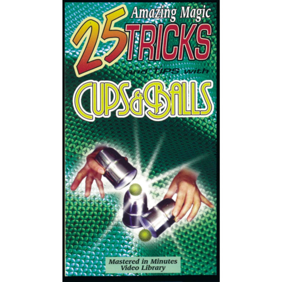 Video 25 Tricks Cups N Balls - Halloween costumes magic supplies magic tricks