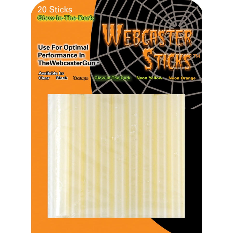 Webcaster Web Stick Clear - Decorations & Props Halloween costumes haunted house