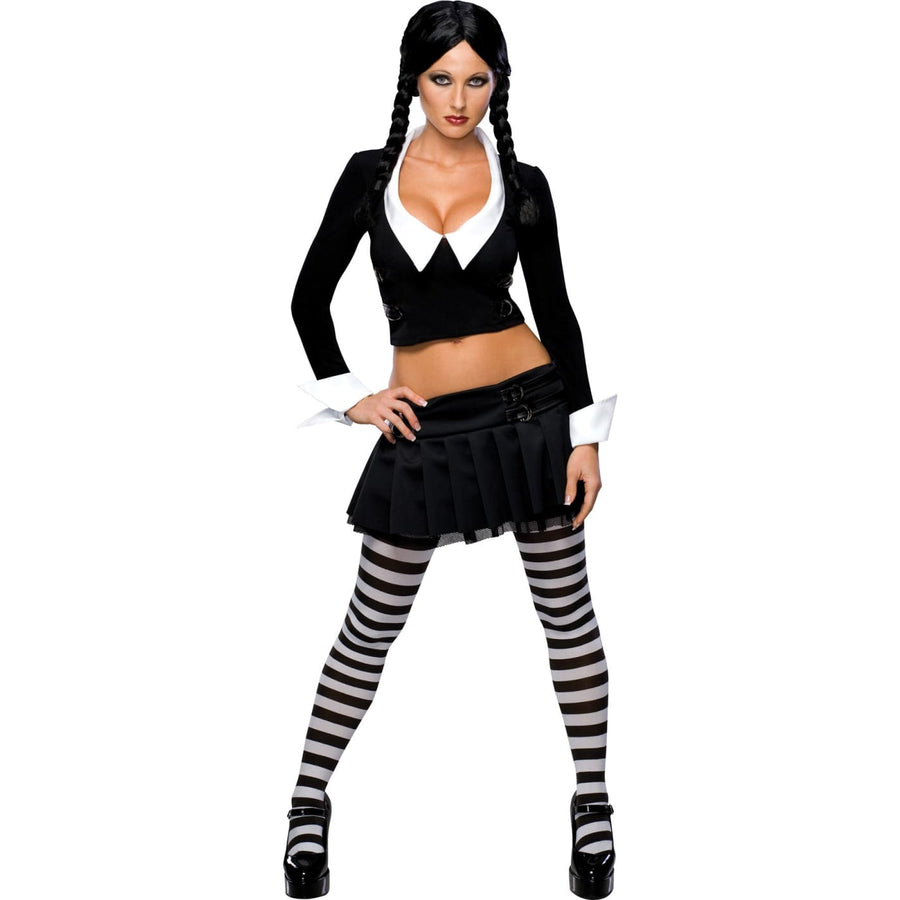 Wednesday Adult X-Small - Addams Family Costume adult halloween costumes female