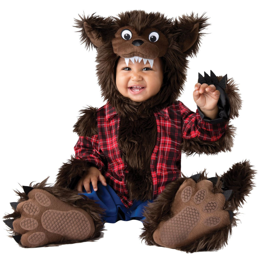 Wee Werewolf Baby Costume 0-6 Months - Baby Costumes Halloween costumes
