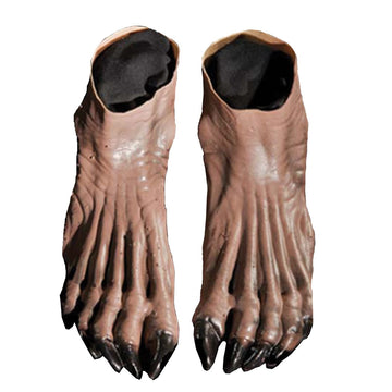 Werewolf Feet Brown - Halloween costumes Hands Feet & Chest