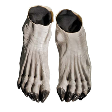 Werewolf Feet Grey - Halloween costumes Hands Feet & Chest