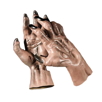 Werewolf Hands Brown - Halloween costumes Hands Feet & Chest