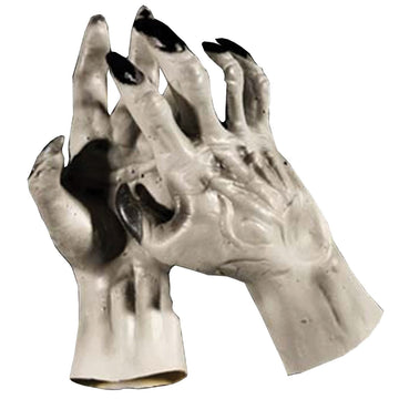 Werewolf Hands Grey - Halloween costumes Hands Feet & Chest
