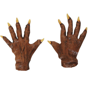 Werewolf Latex Gloves - Animal & Insect Costume Halloween costumes Hands Feet &