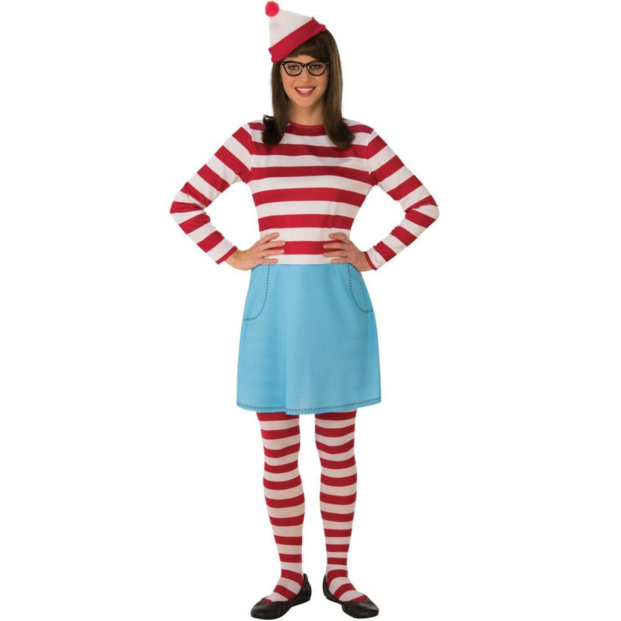 Wheres Waldo Wenda Womens Costume Sm - Halloween costumes New Costume Womens